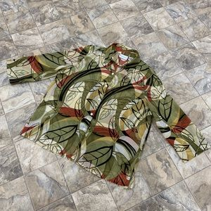 ALFRED DUNNER Printed Blouse